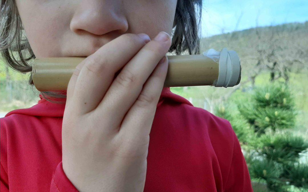 Fabrication d'un kazoo ou mirliton